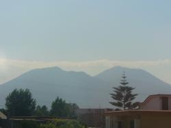 Vesuv von Neapel aus